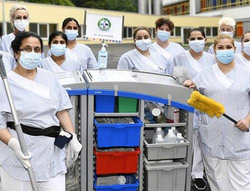Ein sauberes Krankenhaus durch systemische Reinigung