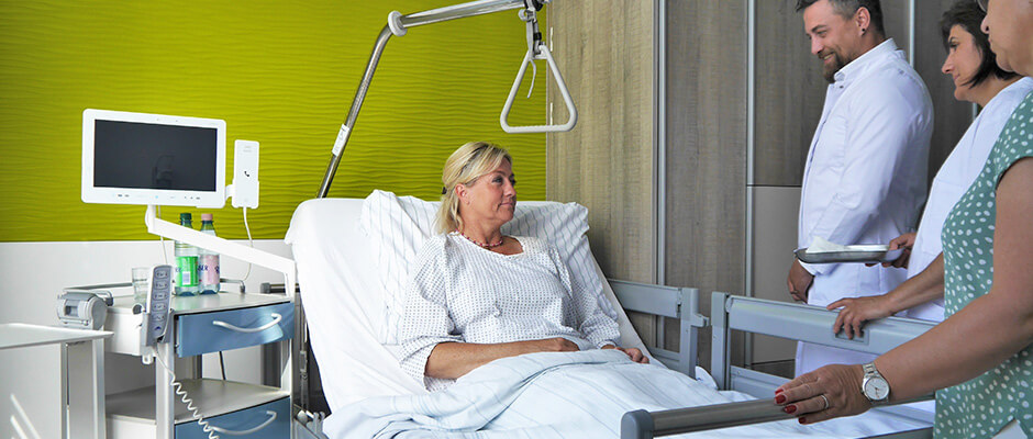 Patienten bei der Visite