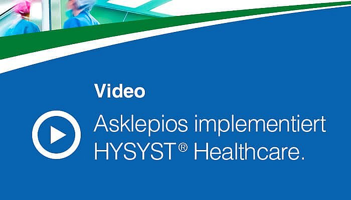 Asklepios implementiert HYSYST Healthcare
