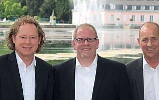 Die HYSYST Gründer: Ulrich Kröcker, Thomas Meyer, Ulrich Schulschenk