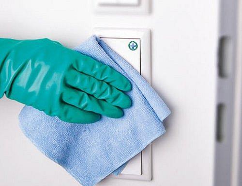 Patienten können Sauberkeit sehen